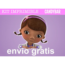 Kit Imprimible Doctora Juguetes - Candy Bar + Extras