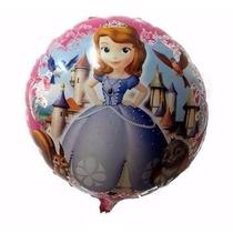 Globos Metalizados Princesita Sofia Frozen Minions X20