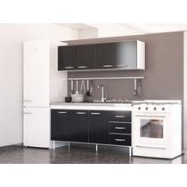Muebles Cocina Combo Bajo Mesada Alacena 1,6 M