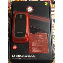 Celular Radio Nextel Ferrari I897 Color Rojo En Caja Exelent