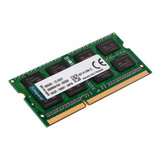 Memoria Sodimm 8gb Kingston Ddr3 1600mhz Notebook Mexx