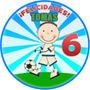 Cumpleaños Fútbol Infantil Invitaciones Kit Digital Imprime