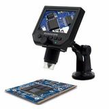 Microscopio Digital 600x Hd Filma Y Fotos Con Pantalla 2018