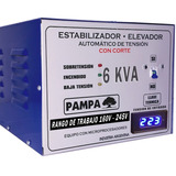 Elevador Automático De Tensión 6 Kva Pampa Estabilizador