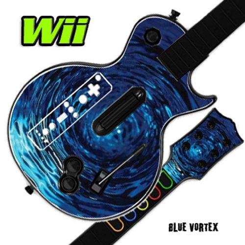 Mightyskins Funda De Piel Para Guitar Hero 3 Iii Nintendo W