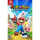 Mario Rabbids Kingdom Battle Juego Físico Nintendo Switch