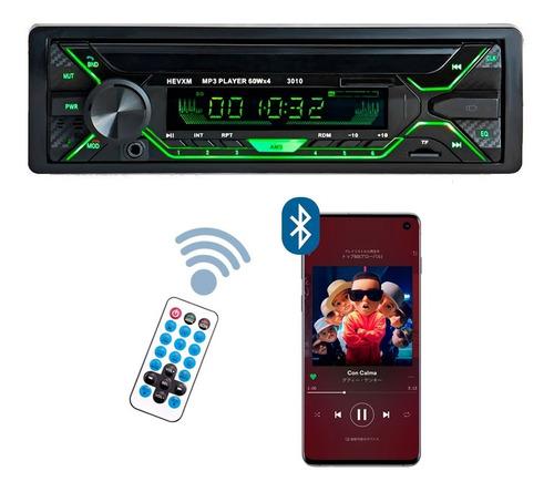 Autoestereo Bluetooth Pantalla  Mp3 Usb Desmontable Fm