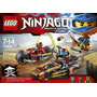 Lego Ninjago 70600 Ninja Bike Chase Original Traido De Usa