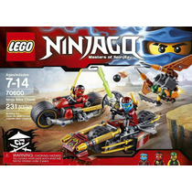 Lego Ninjago 70600 Ninja Bike Chase Original Traido De Usa