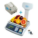 Balanza Systel Croma 31 Kg Impresor Eco Ticket Service Delta