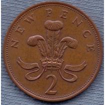 Inglaterra 2 Pence 1979 * Elizabeth Ii *