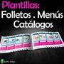Trípticos, Menú, Folletos, Catálogos P/ Productos Servicios