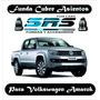 Funda De Asientos Cuero Eco Volkswagen Amarok Cabina Simple