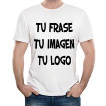 Remeras Personalizadas Estampada Sublimada Tu Logo Tu Imagen