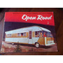 Folleto Antiguo Open Road Motor Homes En La Plata