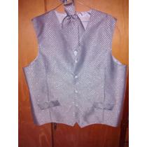 Hermoso Chaleco Jacket De Fiesta O Novio, Casamiento