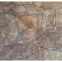 Ceramica Piso Simil Piedra 40x40 Cortines 1ra Calidad