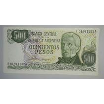 Billete 500 Pesos Ley Serie A R