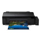 Impresora A Color Epson Ecotank L1300 110v/220v Negra