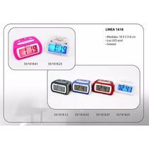 Despertador Digital Eurotime E1618 - Con Luz Y Repeticion