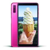 Celular Libre Samsung Galaxy A7 Sm-a750f Rosa