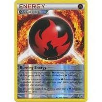 Cartas Pokemon Trainer Burning Energy Energia Rever