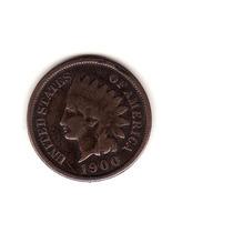 Eeuu, 1 Cent 1900