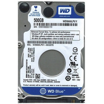 Disco Duro500 Gb P/notebook Wd S-ata 3 5400 7mm Wd5000lpvx