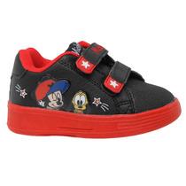 Zapatillas Disney Baby Amigos Mickey Velcro