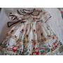 Vestido Nena Fiesta Pascua Verano Unico Original Diseño
