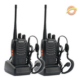 Kit X 2 Handy Baofeng Bf-888s Uhf Vox Manos Libres 16 C