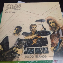 Ruido Blanco Soda Stereo Lp Vinilo Nuevo