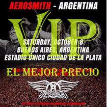 Entradas Aerosmith 8/10 Campo Vip Estadio Unico La Plata