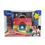 Casa Con Accesorios Mickey Y Minnie Con Figuras Original