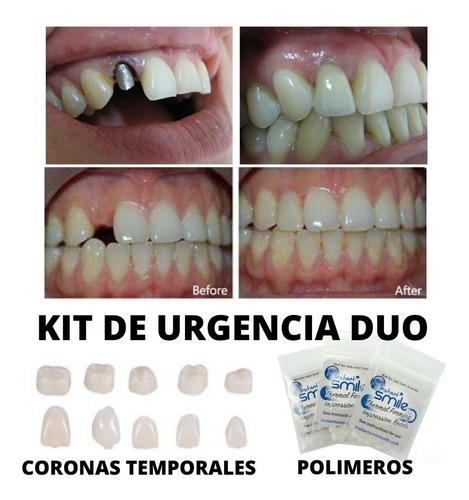 Kit Dentadura Perno Corona Postiza Cosmética Agnovedades