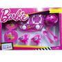 Set De Cocina Glam Barbie Con Anafe