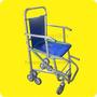 Silla Plegable Para Traslados En Desniveles Y Escaleras, Amb