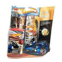 Hot Wheels Set De Regalo Escolar Con Lic. Mattel Original
