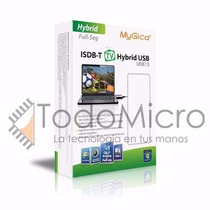 Sintonizadora Tv Digital Usb Mygica U6813 +fm+ Tv Analogica