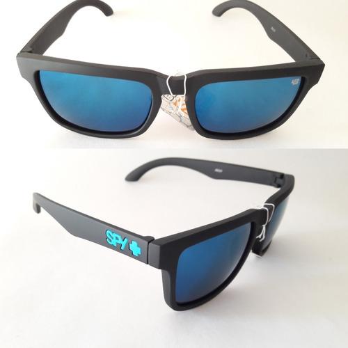 9286dbcba1 Anteojos De Sol Con Marco Mate Gafas Espejados Azul en venta en ...