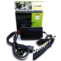 Cargador Universal Multivoltaje Notebook Netbook Tablet 120w