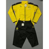 Conjunto Puma Borussia Dortmund 2016 Original Envíos