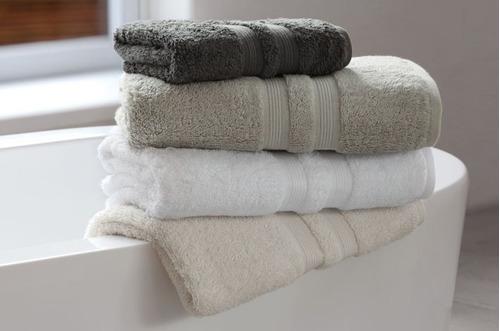 Juego de toall n y toalla espalma egipcio 550 g m2 - Como lavar toallas ...