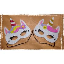 ace09f5fd Pack X10 Antifaces Máscaras Souvenir Unicornios Goma Eva en venta en ...