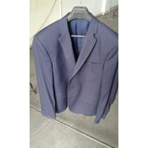 Saco Blazer Azul - Rochas - Talle 54