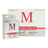 M Preservativos M-force + Multi O 10 Cajas X 3 Unidades
