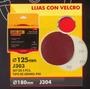 Lijas Con Velcro 180mm Black Jack J304
