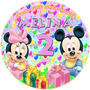 Kit Imprimible Mickey Y Minnie Babys Candy Bar