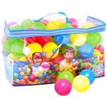Bolsa Pack 100 Pelotas De Colores Bestway Babymovil