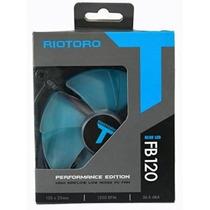 Cooler Led Fan Riotoro Fb120 Led Azul Ventilador 1500rpm